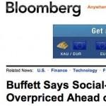 El oráculo de las inversiones, Warren Buffett habló: se está sobrestimando el valor de las redes sociales como negocios