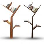 Diseños originales de libreros para ganar dinero, árboles de saber dentro de tu casa