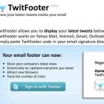Una herramienta gratis para agregar tus Tweets a la firma de tu correo electrónico