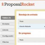 ProposalRocket un sistema para administrar propuestas de negocios por internet