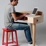 Genial idea de diseño de un escritorio para poder concentrarnos y no distraernos en nuestros proyectos de negocios