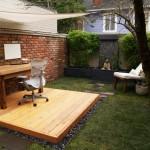 Diseñar una oficina exterior en tu jardín para trabajar con menos stress y ser más productivo