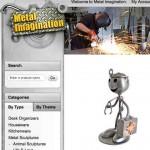 Productos de metal reciclados en esculturas como idea de negocio para ganar dinero
