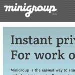 Minigroup, una nueva red social … totalmente privada arma una mini red de tu idea de negocios