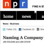 Anécdotas sobre los nombres de Apple, Twitter y Google, encontrando los mejores nombres para tu empresa