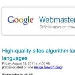 Google anuncia que su nuevo algoritmo Panda ya está disponible para más idiomas incluyendo el Español … ¿tu tráfico de visitas ha bajado?