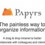 Papyrs, un nuevo lugar para hacer gratis un intranet para tu negocio o una página web gratis con tus productos