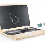Productos novedosos para niños, el i-Wood una computadora pizarra