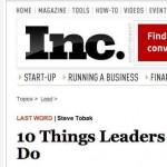 Cómo ser y aprender a ser un mejor líder, 10 cosas que todo líder debe de saber