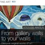 Amazon ahora también comienza a vender Arte fino de diversas galerías de arte en su tienda online