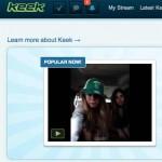 Keek la nueva red social de moda que es un mix entre YouTube y Twitter