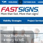 El negocio de la impresión de signos, banners e impresiones a domicilio. El caso de Fast Signs